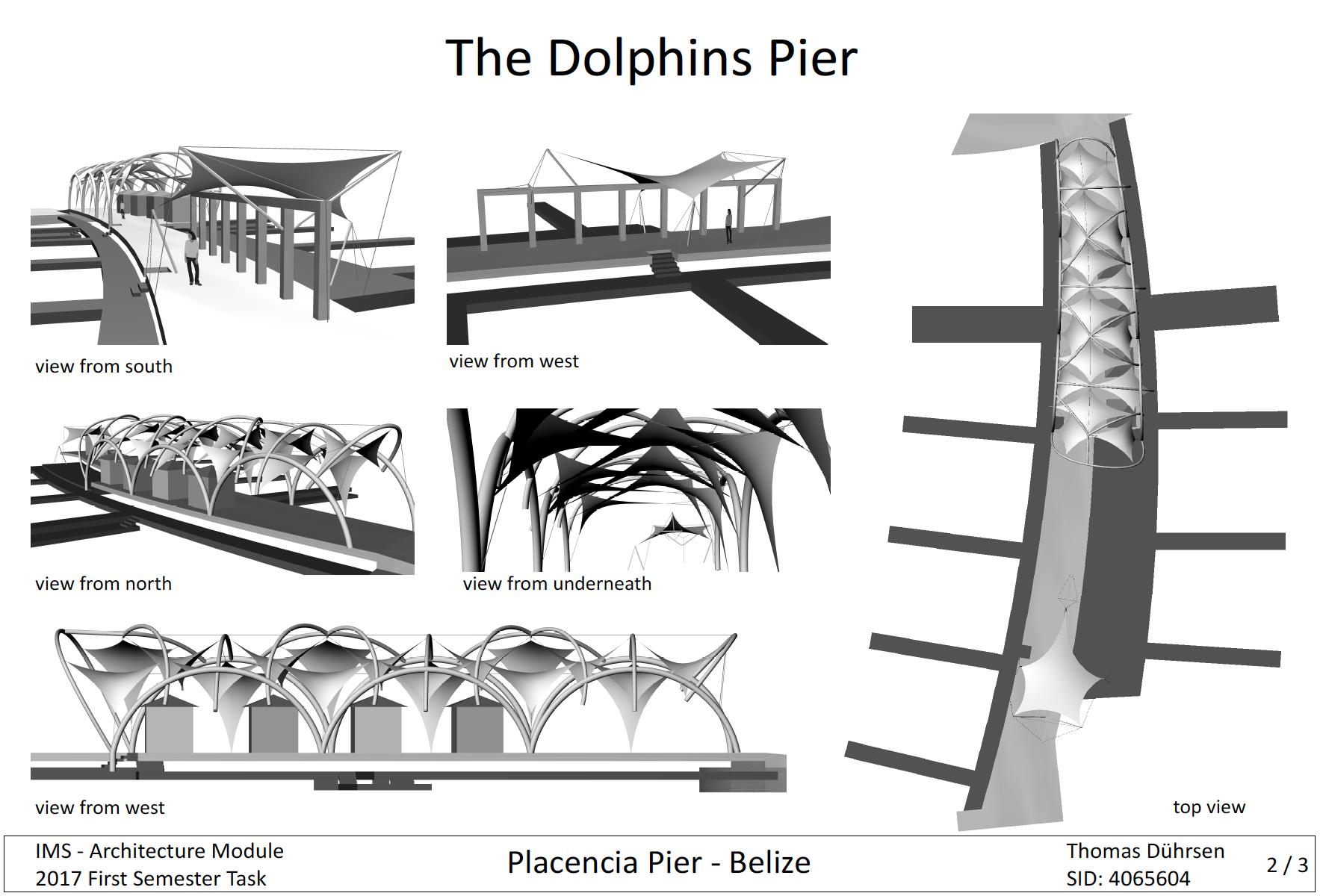 Placencia Pier Study 2